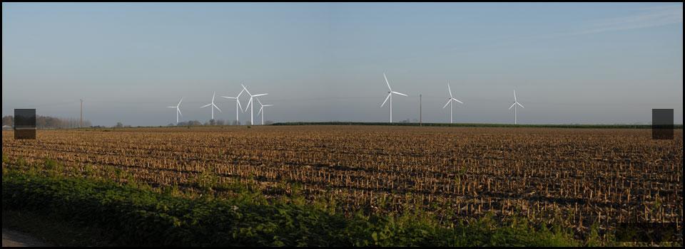 Impact paysager – Projets éoliens